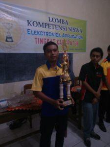 Juara LKS TAV Kabupaten Kendal