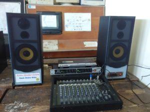 Hasil karya siswa equalizer control&sound sistem