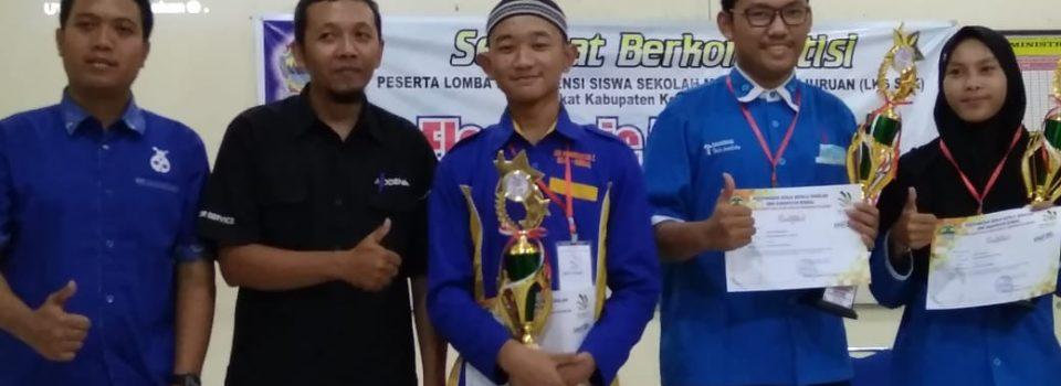 Juara 1 lomba electrical science tingkat kab kendal tahun 2018